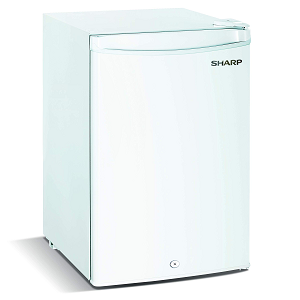 Sharp Single Door Refrigerator 100 Litres SJK135XWH2