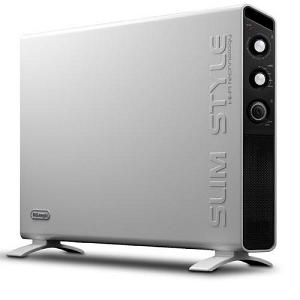 De'Longhi Slim Style Mobile & Wall Mount Turbo Convector DHC-HCX3120FS