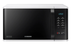 SAMSUNG MWO with Quick Defrost, 23 L - MS23K3513AW