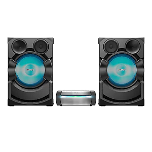 Sony High-Power Home Audio System with Bluetooth® Technology HCD-SHAKEX10