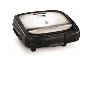 Tefal Waffle Time, 700 W stainless steel/black WD170D12
