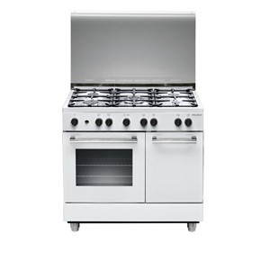 France Cookers White 9B50S3ZWCIFS