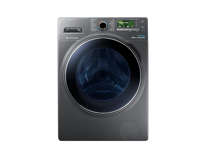 Samsung Combo with EcoBubble, 12 Kg - WD12J8420GX