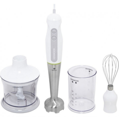 Kenwood Home Appliance HDP109WG Hand-held blender 600 W with blender attachment, with mixing jar, Whisk attachment White