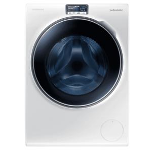 Samsung Washing Machine with ecobubble, 10 kg-White - WW10H9600EW