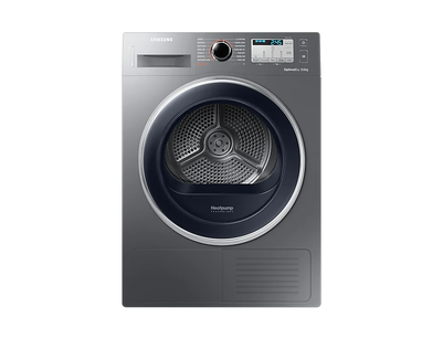 Samsung Dryer with Energy A+++, 9 Kg (Inox) - DV90M5003QX/EU