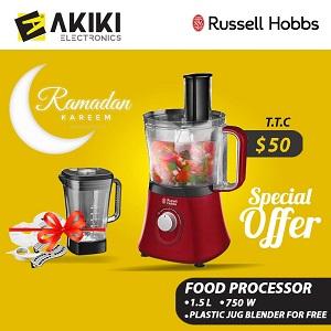 Russell Hobbs food processor 750 W, 1.5L