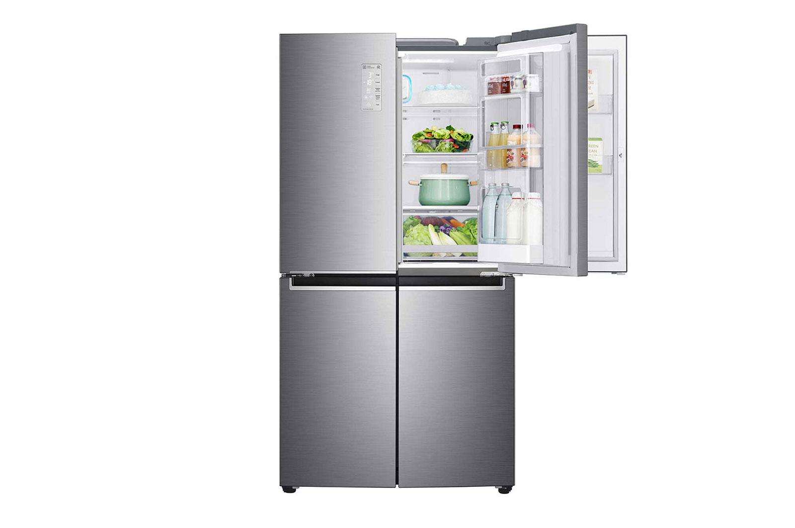 LG 4 Door Refrigerator Inverter Linear Compressor GRD-274PN