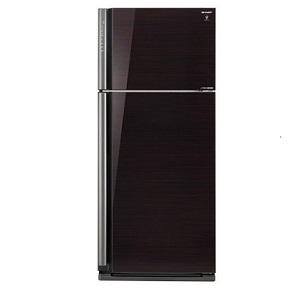 Sharp 25 CFT Top Mount Refrigerator SJGP75DBK5