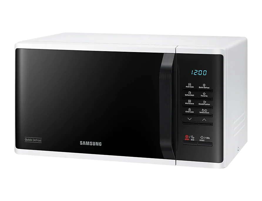SAMSUNG MWO with Quick Defrost, 23 L – MS23K3513AW 4