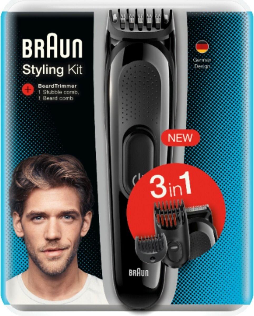 Braun Styling Kit 3-In-1 Trimmer For Men - SK2000