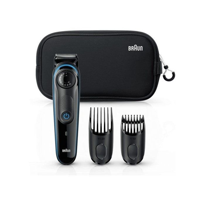 Braun BT3940TS Beard Trimmer For Men – Black/Blue 3