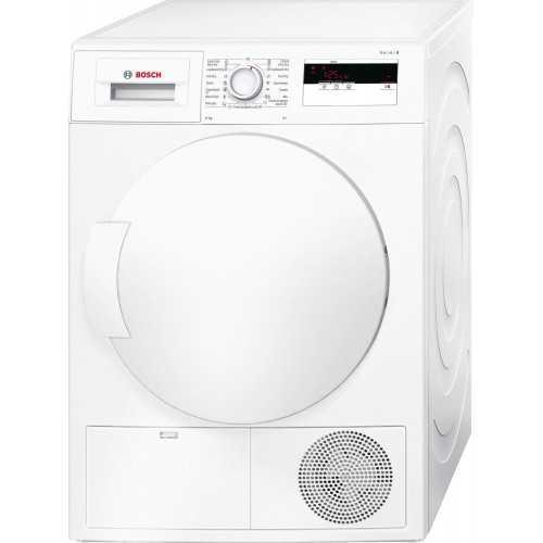 BOSCH Serie   4 heat pump tumble dryer 8 kg WTH83000ME