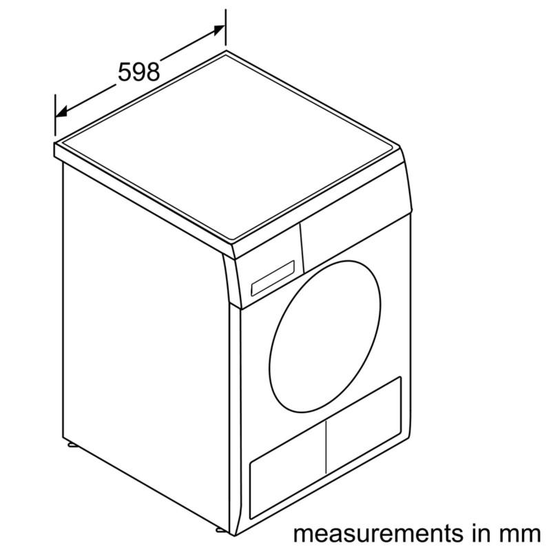 BOSCH Serie   4 condenser tumble dryer 7 kg WTE84102ME 4