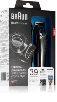 Braun BT5042 Beard Trimmer and Hair Trimmer 39 Length Settings AutoSense Technology Black/Grey