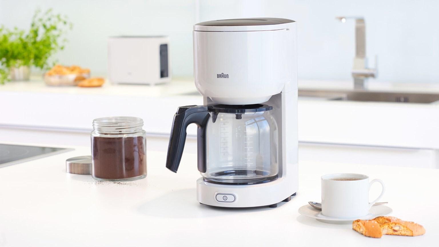 Braun PurEase Coffee Maker KF 3100 WH 2