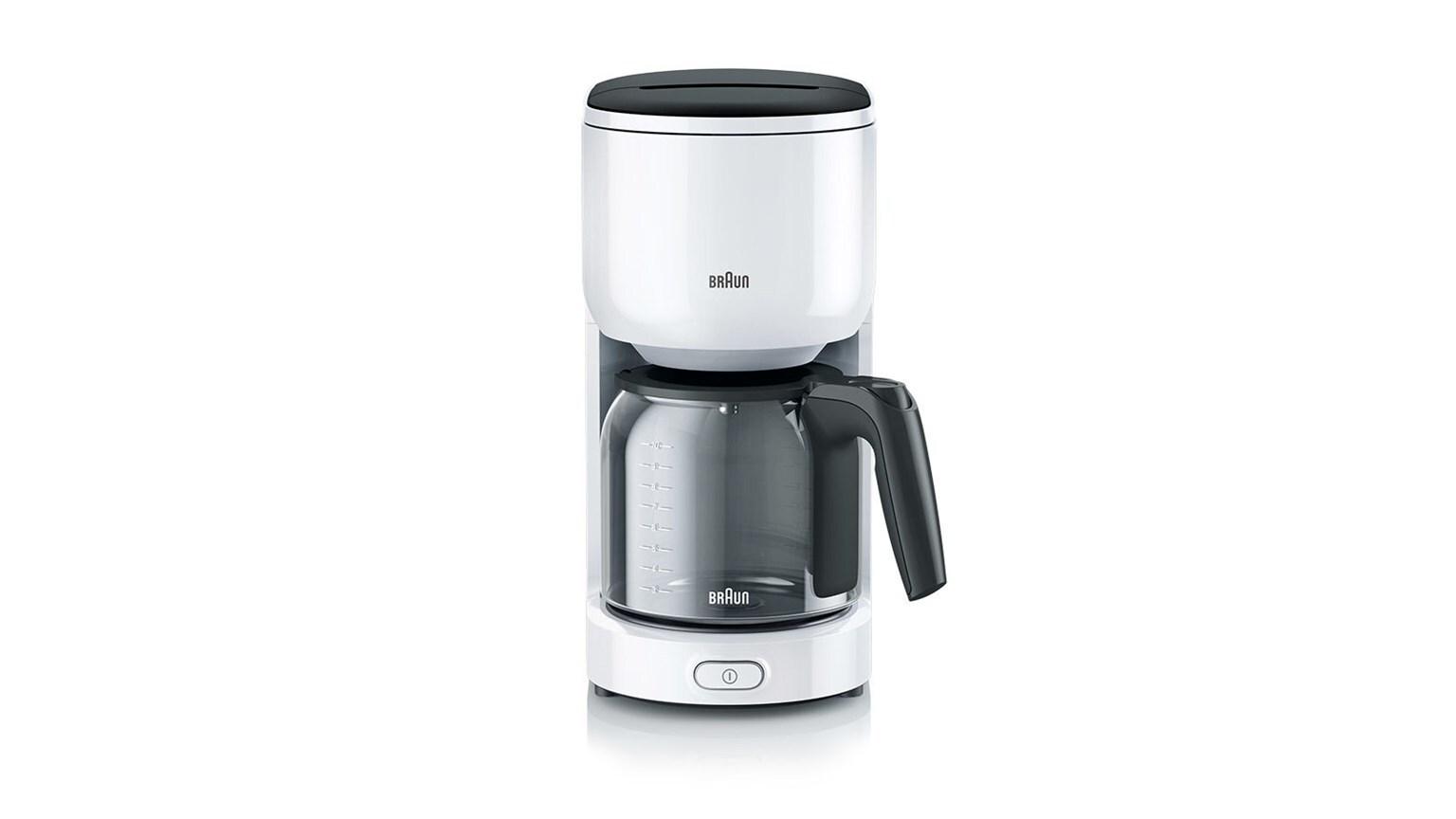Braun PurEase Coffee Maker KF 3100 WH