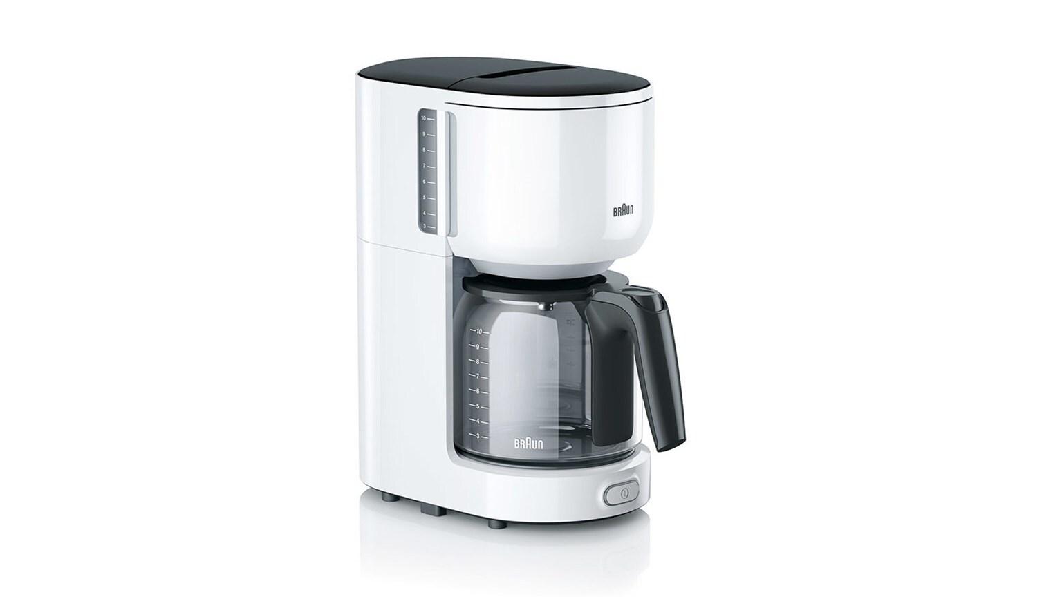 Braun PurEase Coffee Maker KF 3100 WH 3