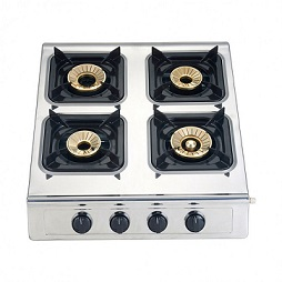 Campomatic Gas Cooker 3 Brass Burners GC400SS
