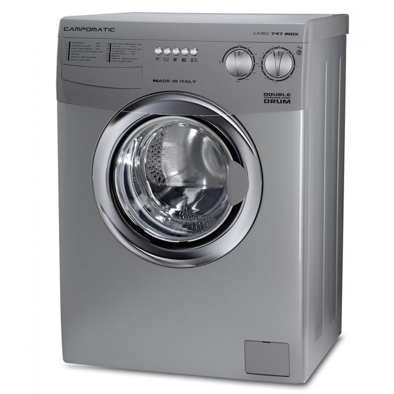 Campomatic Washing Machines 8.5 KG 1200 RPM Inox WM747LTS