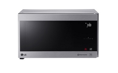 LG Microwave Oven Solo 25L Silver MS2595CIS