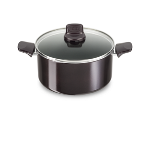 Tefal Dark Ruby Stewpot 24 with lid C4024612