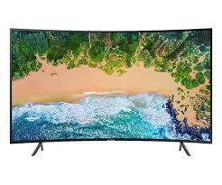 Samsung TV 49 UHD 4K Curved Smart TV NU7300 Series 7