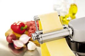 Kenwood At970a Chef & Major Flat Pasta Roller Attachment Stainless Steel & White 4