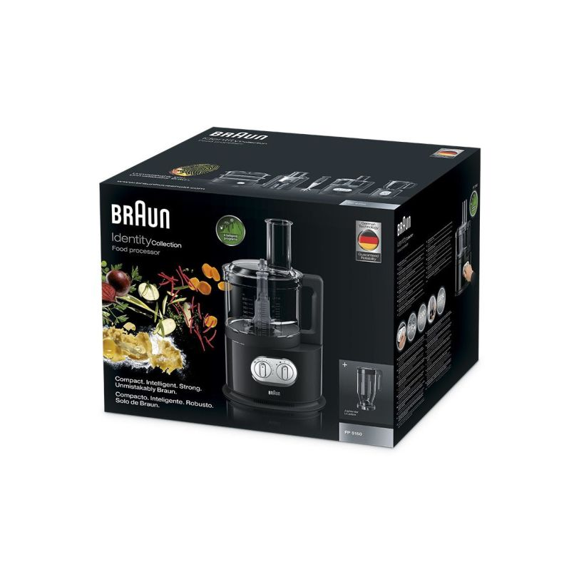 Braun Identity Collection Food Processor, 1000W, Black, FP5150 3