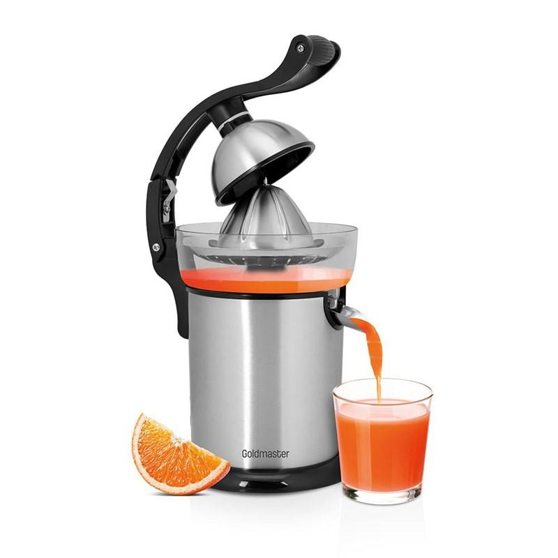 Goldmaster Vitamine Store Citrus Juicer 130W S/S GM‐7255