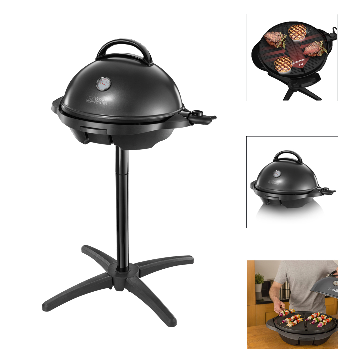 Russell Hobbs George Foreman Indoor & Outdoor Grill Removable Stand 3