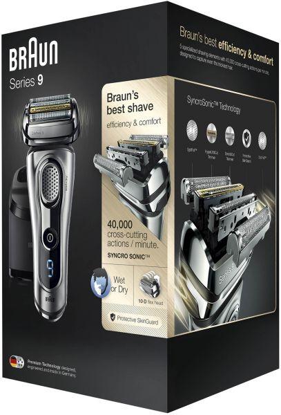 Braun Series 9 9290cc Electric Wet & Dry Foil Shaver