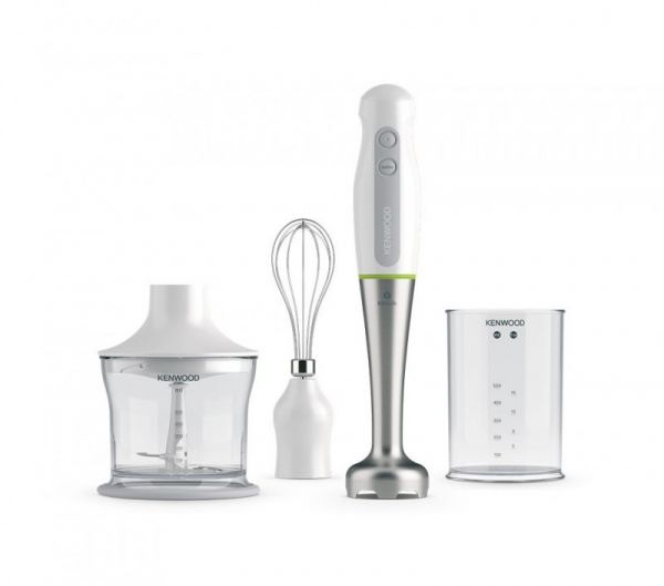Kenwood Home Appliance HDP109WG Hand-held blender 600 W with blender attachment, with mixing jar, Whisk attachment White 2