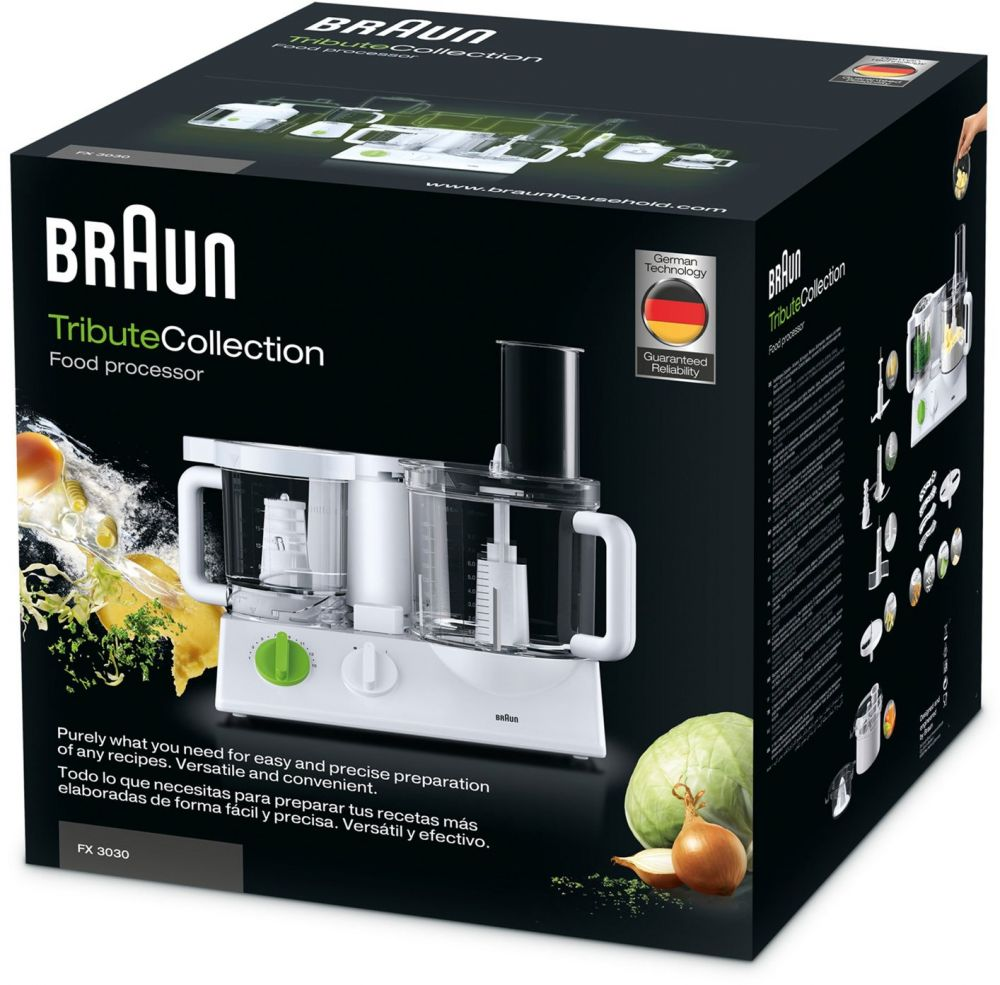 Braun FX3030 Tribute Collection Dual Food Processor 4