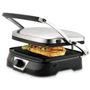 Kenwood Health Grill Stainless Steel Finish, HG369