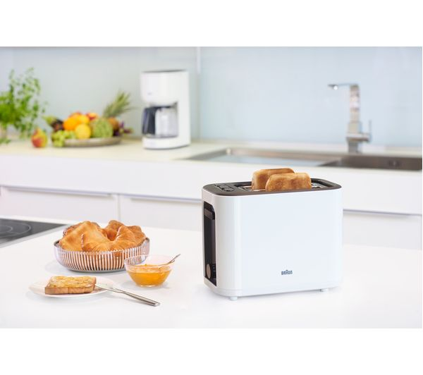 BRAUN PurEase Toaster HT 3000 WH – White 6