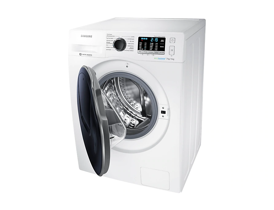 WD80K5410OX Samsung Dryer and Washer 7kg Combo 7
