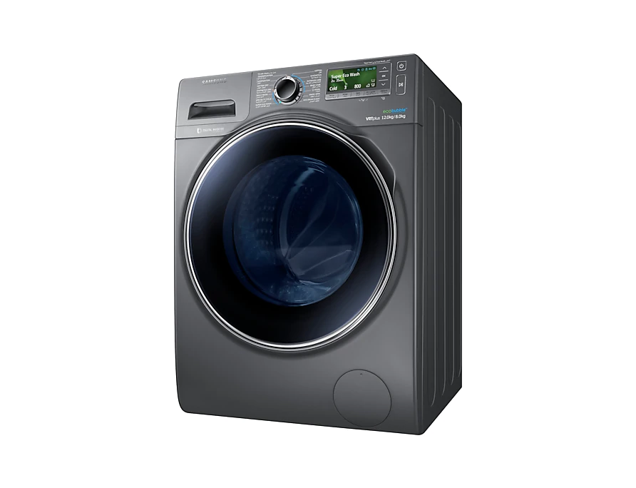 Samsung Combo with EcoBubble, 12 Kg – WD12J8420GX 2