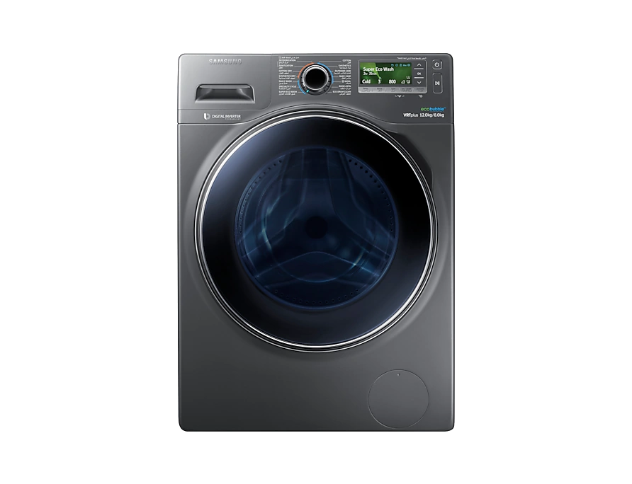 Samsung Combo with EcoBubble, 12 Kg – WD12J8420GX 4
