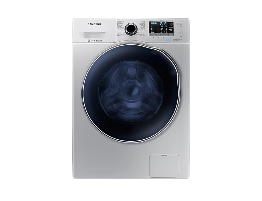 WD80J5410AS Samsung Ecobubble Washer Dryer 8kg 2