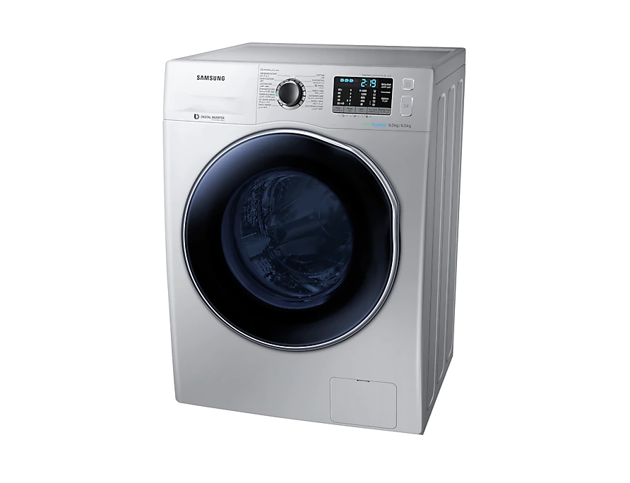 WD80J5410AS Samsung Ecobubble Washer Dryer 8kg 3