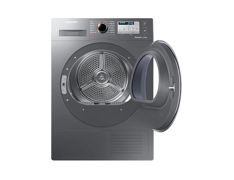 Samsung Dryer with Energy A+++, 9 Kg (Inox) – DV90M5003QX/EU 2