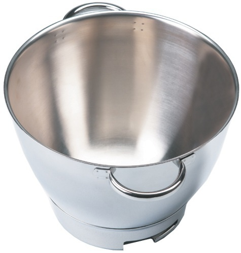 Kenwood 36385, Attachment Chef Stainless Steel Bowl with Handles2 2