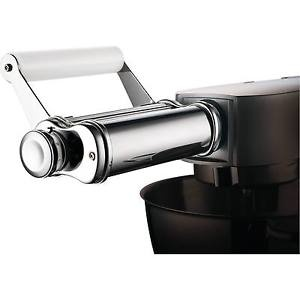Kenwood At970a Chef & Major Flat Pasta Roller Attachment Stainless Steel & White 5