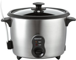 Kenwood Rice Cooker - Stainless Steel, RC417, Silver