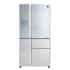 Sharp 5 Doors Refrigerator 850L Silver SJFP910SSS