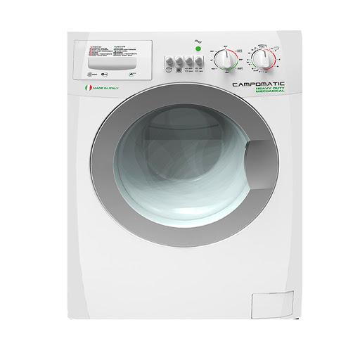 Campomatic, Washing Machines, 8.5 KG, 1100 RPM Inox WM747LT