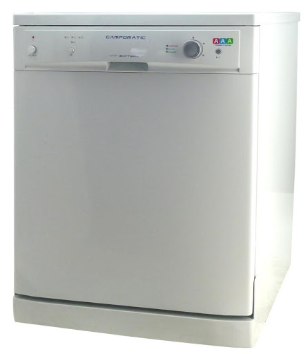 Campomatic Freestanding Dishwasher White DW814NW