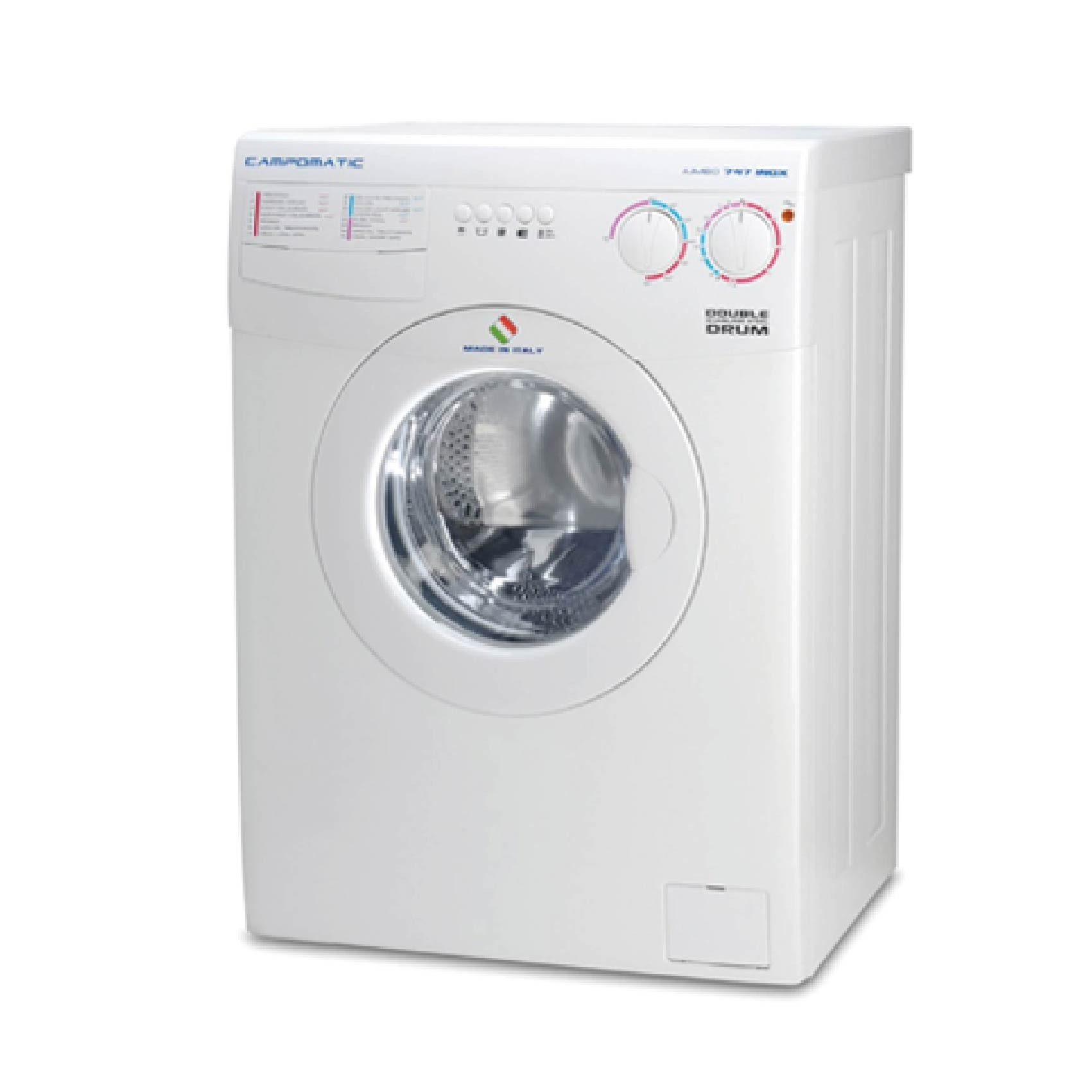 Campomatic WASHER FRONT LOAD 8KG 1000RPM WHITE WM747XL