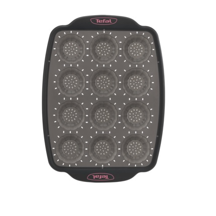 Tefal Crispybake Silicone 12 Mini Tartlets J4171414